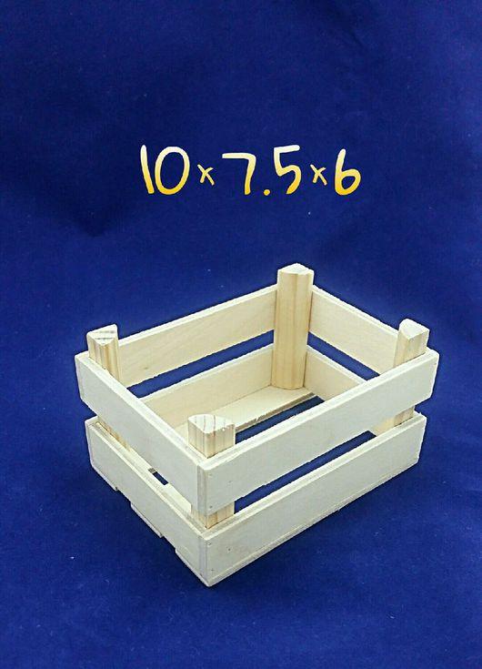 Миниатюрные модели ручной работы. Ярмарка Мастеров - ручная работа. Купить Мини ящик декоративный. Handmade. Декор для интерьера