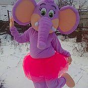 Дизайн и реклама ручной работы. Ярмарка Мастеров - ручная работа ростовая кукла слониха. Handmade.