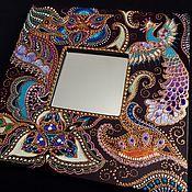 Для дома и интерьера ручной работы. Ярмарка Мастеров - ручная работа Зеркало интерьерное Firebird. Handmade.
