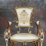 Для дома и интерьера handmade. Livemaster - original item Wrought iron bar chair
