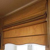 Для дома и интерьера ручной работы. Ярмарка Мастеров - ручная работа Римская штора Дюны. Handmade.