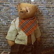 Куклы и игрушки ручной работы. Ярмарка Мастеров - ручная работа Старый мишка Mr. Касл. Handmade.