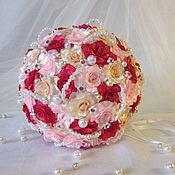 """Свадебный салон ручной работы. Ярмарка Мастеров - ручная работа Букет невесты """" Роуз"""". Handmade."""