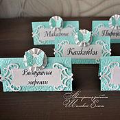 Свадебный салон ручной работы. Ярмарка Мастеров - ручная работа таблички для сладкого стола (цвет любой). Handmade.
