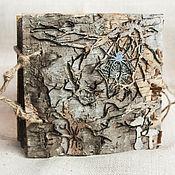 """Канцелярские товары ручной работы. Ярмарка Мастеров - ручная работа Блокнот """"В чаще леса"""" или дневник Бабы Яги. Handmade."""