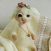 Куклы и игрушки ручной работы. Ярмарка Мастеров - ручная работа Овечка. Handmade.