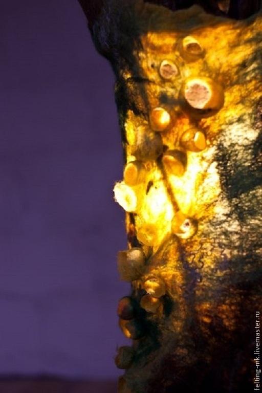 """Освещение ручной работы. Ярмарка Мастеров - ручная работа. Купить Напольный светильник """"Дух леса"""". Handmade. Сказочный подарок, рустик"""