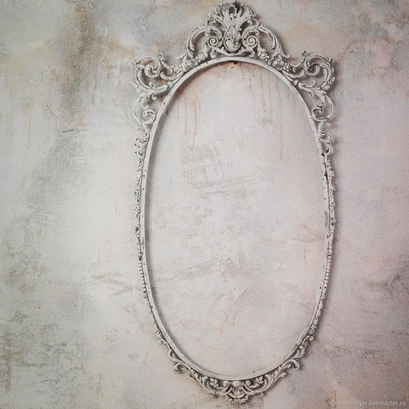 Sold.Frame for a mirror. mirror. Provence. Shabby chic – shop online ...