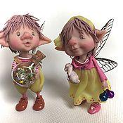 Куклы и игрушки ручной работы. Ярмарка Мастеров - ручная работа Филипп и Молли. Handmade.