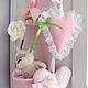 Кармашки органайзер в детскую комнату текстильный Шебби Шик Прованс Кармашки в детскую комнату. Кармашки для мелочей. Текстильный дизайн.
