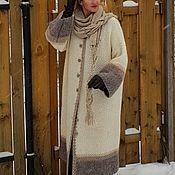 Одежда handmade. Livemaster - original item Coat Snow March handmade wool. Handmade.