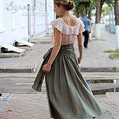 Одежда ручной работы. Ярмарка Мастеров - ручная работа Летящие юбка и блузка. Handmade.