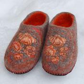 """Обувь ручной работы. Ярмарка Мастеров - ручная работа Тапки валяные """"Признание"""". Handmade."""