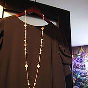 Украшения handmade. Livemaster - original item With pendant and earrings
