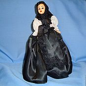 Винтаж handmade. Livemaster - original item Collectible doll France 1950e Sleeping eyes. Handmade.