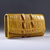 Сумки и аксессуары handmade. Livemaster - original item Wallet female crocodile IMA0004Y2. Handmade.