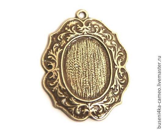 Для украшений ручной работы. Ярмарка Мастеров - ручная работа. Купить Оправа Старинная рама 18х25мм, античная бронза (1шт). Handmade.