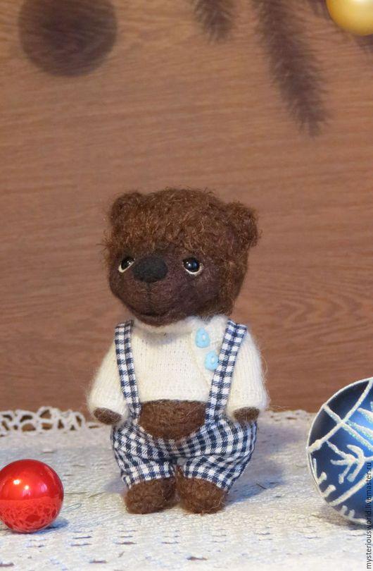 Мишки Тедди ручной работы. Ярмарка Мастеров - ручная работа. Купить Федор. Handmade. Коричневый, 8марта