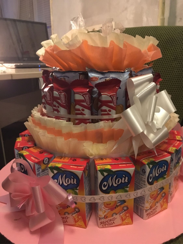 Торт из конфет, Кулинарные сувениры, Химки,  Фото №1