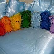 Куклы и игрушки ручной работы. Ярмарка Мастеров - ручная работа Радужные мышастые ежики. Handmade.