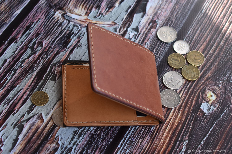 Leather wallet ' Litl3', Wallets, Orenburg,  Фото №1