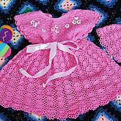 """Работы для детей, ручной работы. Ярмарка Мастеров - ручная работа платье """"Розовая сказка"""". Handmade."""