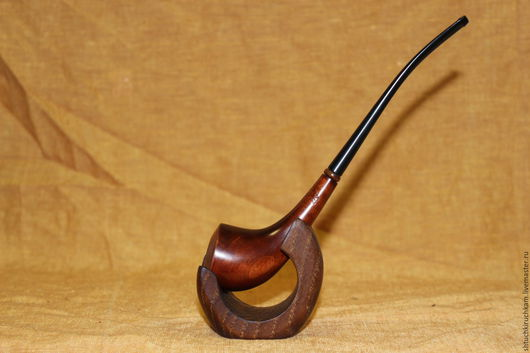 """Подарки для мужчин, ручной работы. Ярмарка Мастеров - ручная работа. Купить Трубка """"Диана"""". Handmade. Коричневый, подарок на любой случай"""