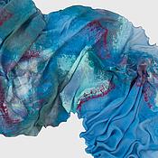 Аксессуары ручной работы. Ярмарка Мастеров - ручная работа Валяный шарф Ипсарио. Handmade.