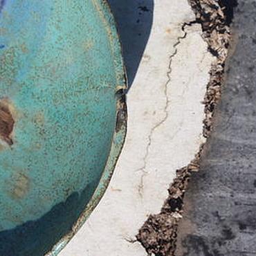 """Посуда ручной работы. Ярмарка Мастеров - ручная работа чаша из серии """"Море волнуется..."""". Handmade."""