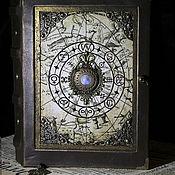 Канцелярские товары handmade. Livemaster - original item Notebook Astrology. Handmade.