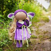 Куклы и игрушки ручной работы. Ярмарка Мастеров - ручная работа Интерьерная кукла бабочка. Handmade.