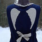 """Одежда ручной работы. Ярмарка Мастеров - ручная работа сарафан """"по первому снегу"""". Handmade."""