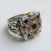Украшения handmade. Livemaster - original item Ring of Byzantine Eye with Topaz. Handmade.