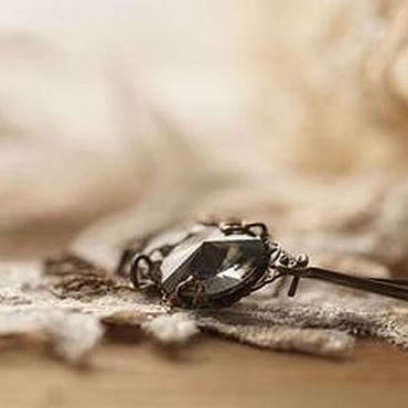 """Украшения ручной работы. Ярмарка Мастеров - ручная работа Серьги винтажные """"Silver Night"""". Handmade."""