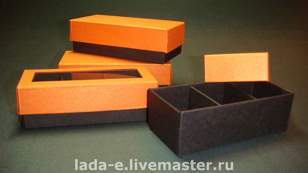 Box individual sections, Packing box, Moscow,  Фото №1