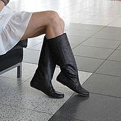 Обувь ручной работы. Ярмарка Мастеров - ручная работа Сапоги из кожи питона. Handmade.