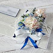 Открытки ручной работы. Ярмарка Мастеров - ручная работа Конверт для денег на свадьбу, денежный подарок. Handmade.