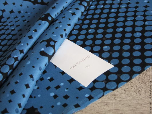 Шитье ручной работы. Ярмарка Мастеров - ручная работа. Купить Valentino оригинал жаккард шелковый, Италия. Handmade. Комбинированный