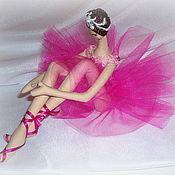 """Куклы и игрушки ручной работы. Ярмарка Мастеров - ручная работа Балерина """"Фуксия"""" - Ballerina """"Fuchsia"""". Handmade."""