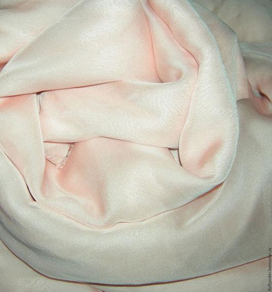 Шифон лососевый розовый