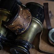 Украшения ручной работы. Ярмарка Мастеров - ручная работа Браслет Старинная карта. Handmade.