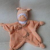 Вальдорфские куклы и звери ручной работы. Ярмарка Мастеров - ручная работа Сплюшка малышка. Handmade.