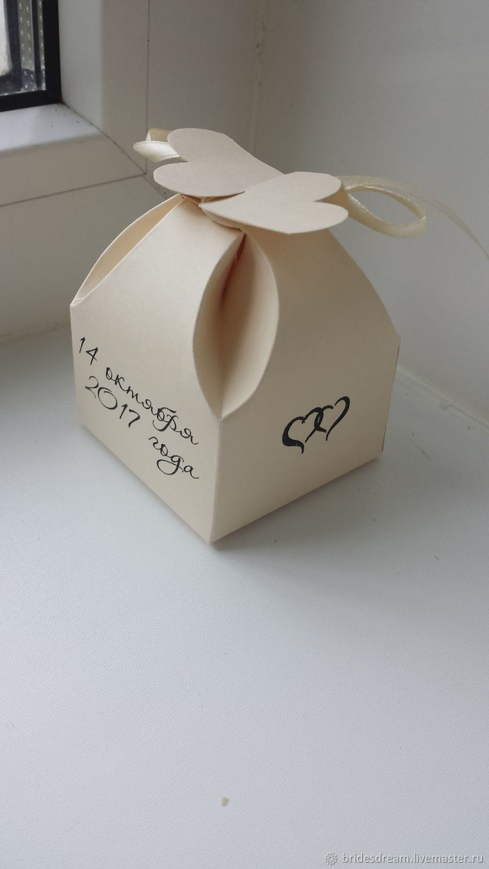 Bonbonniere. Gift for the guests. Bonbonniere. gift for guests, Bonbonniere, Moscow,  Фото №1