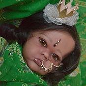Куклы и игрушки ручной работы. Ярмарка Мастеров - ручная работа Индийская малышка Анджали. Handmade.