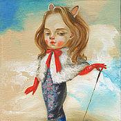 Картины и панно ручной работы. Ярмарка Мастеров - ручная работа Картина Домашний скорпион. Handmade.