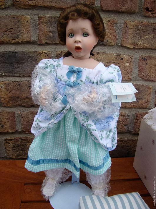 Коллекционные куклы ручной работы. Ярмарка Мастеров - ручная работа. Купить Коллекционная фарфоровая кукла  от Венди Лоутон. Handmade. Кремовый