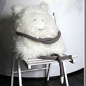 Куклы и игрушки ручной работы. Ярмарка Мастеров - ручная работа Песец, он же Полярная Мышь. Handmade.