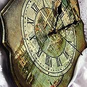 Для дома и интерьера handmade. Livemaster - original item Wall clock vintage
