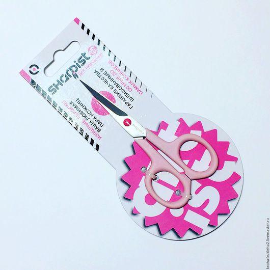 Шитье ручной работы. Ярмарка Мастеров - ручная работа. Купить Ножницы Sharpist 10,5 см. Handmade. Бледно-розовый