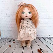 Портретная кукла ручной работы. Ярмарка Мастеров - ручная работа Кукла в ретро стиле. Handmade.